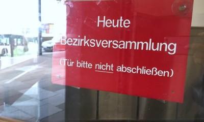 Bezirksversammlung Hamburg-Mitte, Foto: Isabella David