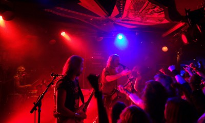 Enforcer Rock Café Hamburg Oktober 2015