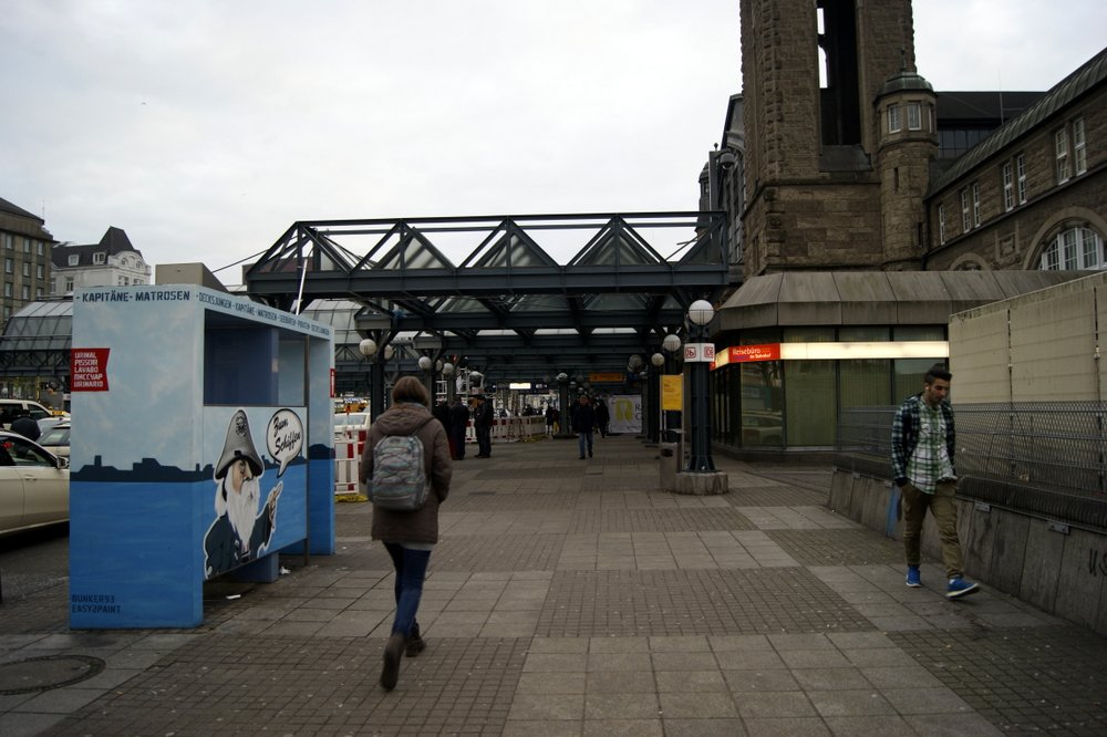 Flüchtlingshilfe am Hauptbahnhof. Foto: Isabella David